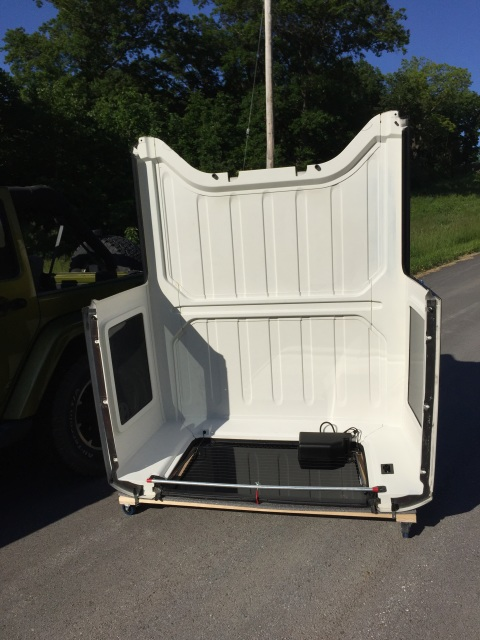 Jk Jku Hardtop Storage Cart